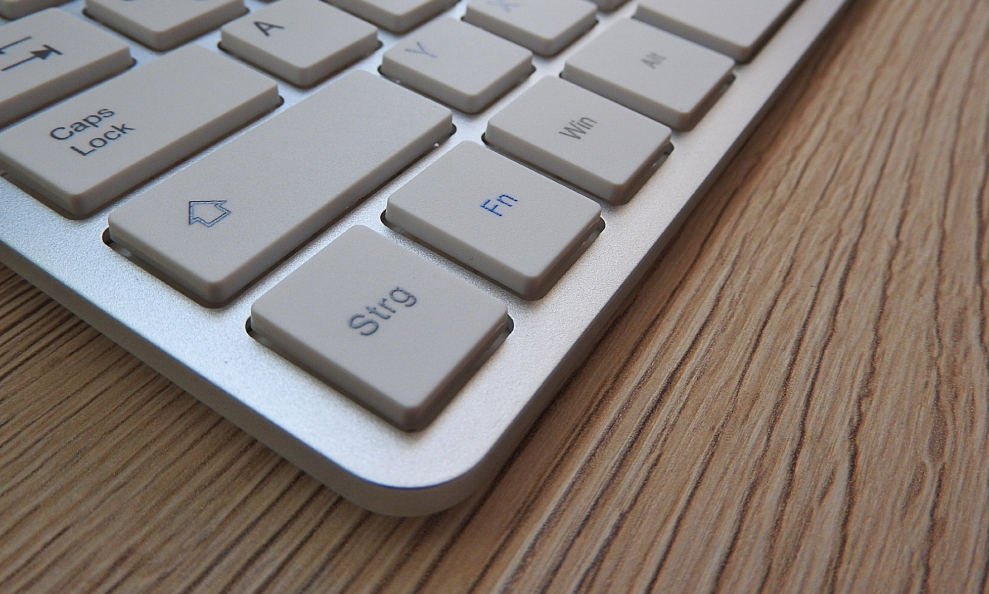 Touch typing and the mysterious uses of the function keys (F1-F12)
